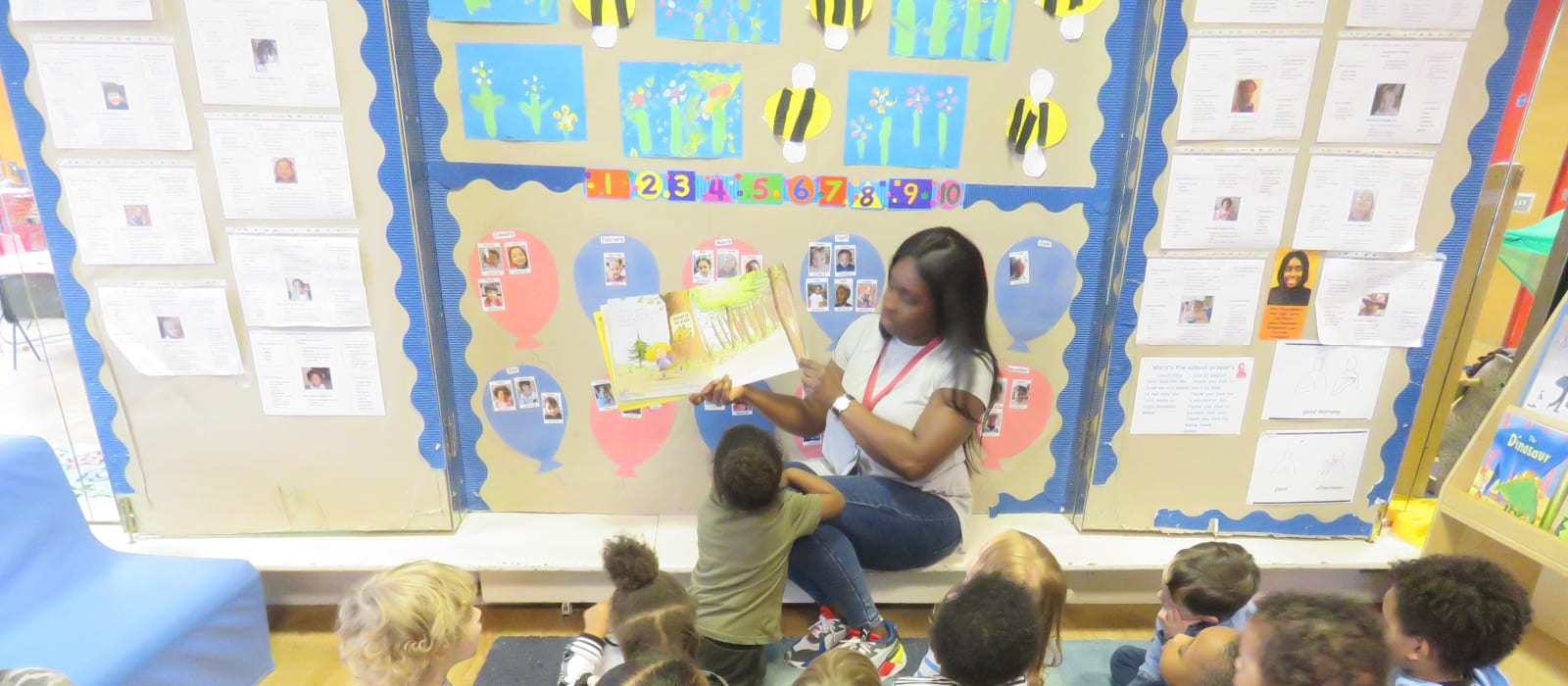 Story time at Marys Pre-School