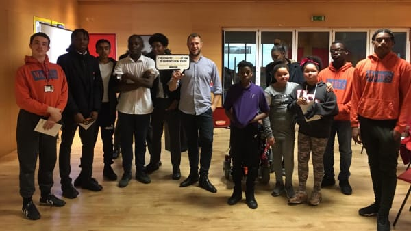 Marys Youth Club and London Village Network Professionals Talk
